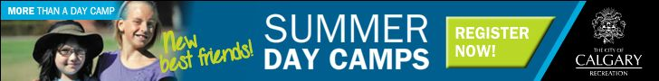 City of Calgary Day Camps 2014