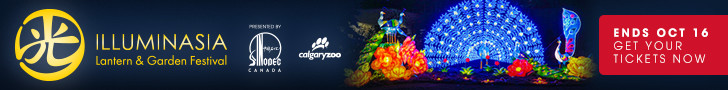 Calgary Zoo October 2016 Banner - Illuminasia