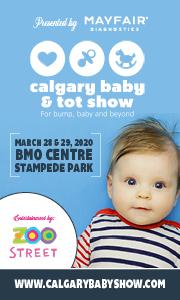 Calgary Baby Show Feb 20-Mar 20 2020