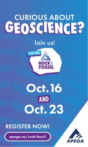 APEGA Rock & Fossil event