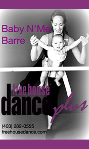 Free House Dance Baby Barre
