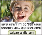 Calgary's Child Magazine - Calendar